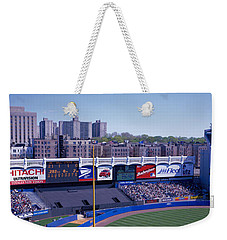 Yankee Stadium Ny Usa Weekender Tote Bag by Panoramic Images