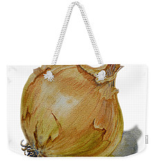 Yellow Onion Weekender Tote Bag by Irina Sztukowski