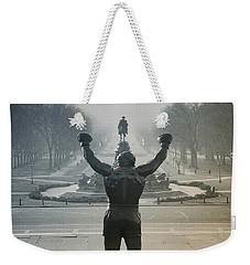 Yo Adrian Weekender Tote Bag by Bill Cannon