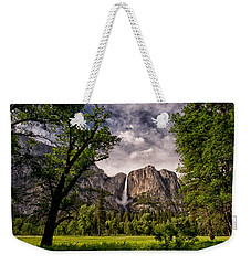 Yosemite Falls Weekender Tote Bag by Cat Connor