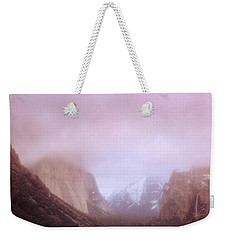 Yosemite Valley Ca Usa Weekender Tote Bag by Panoramic Images