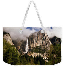 Yosemite Valley View Weekender Tote Bag by Donna Kennedy