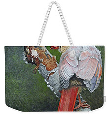 Young Cardinal  Weekender Tote Bag by Ken Everett