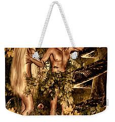 Birth Of Sin Weekender Tote Bag by Lourry Legarde