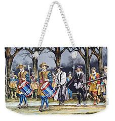Charles I's Last Walk Weekender Tote Bag by Ron Embleton
