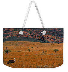 Emu Dreaming Weekender Tote Bag by Bruce J Robinson