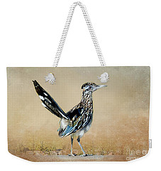 Greater Roadrunner Weekender Tote Bag by Betty LaRue