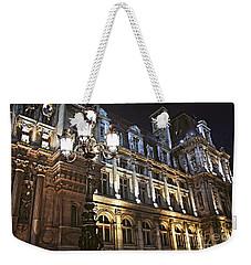 Hotel De Ville In Paris Weekender Tote Bag by Elena Elisseeva
