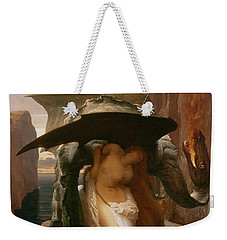 Perseus And Andromeda Weekender Tote Bag by Frederic Leighton