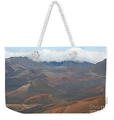 Haleakala Volcano Maui Hawaii Weekender Tote Bag by Sharon Mau