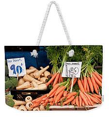 Carrots Weekender Tote Bag by Tom Gowanlock