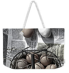 Eggs Weekender Tote Bag by Joana Kruse