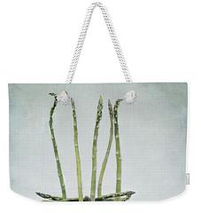 A Bunch Of Asparagus Weekender Tote Bag by Priska Wettstein