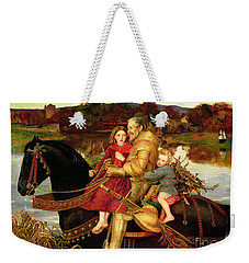 A Dream Of The Past Weekender Tote Bag by Sir John Everett Millais