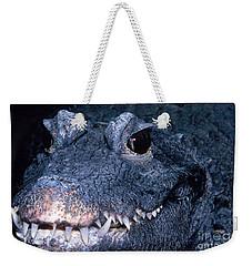 African Dwarf Crocodile Weekender Tote Bag by Dante Fenolio