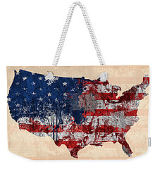America Weekender Tote Bag by Mark Ashkenazi