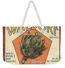 Americana Veggies Weekender Tote Bag by Debbie DeWitt