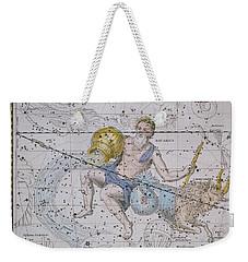 Aquarius And Capricorn Weekender Tote Bag by A Jamieson