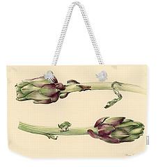 Artichokes Weekender Tote Bag by Alison Cooper