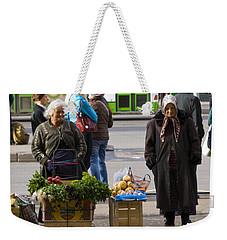 Babushkas. Moscow Russia Weekender Tote Bag by Juli Scalzi
