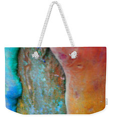 Weekender Tote Bag featuring the digital art Become by Richard Laeton