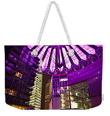 Berlin Sony Center Weekender Tote Bag by Mike Reid