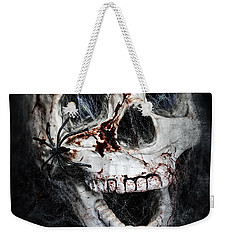Bloody Skull Weekender Tote Bag by Joana Kruse
