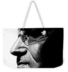 Bono - Half The Man Weekender Tote Bag by Kayleigh Semeniuk