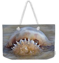 Cabbage Head Jellyfish  Weekender Tote Bag by Betsy Knapp