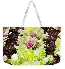 Cabbages Weekender Tote Bag by Tom Gowanlock