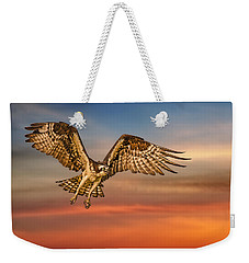 Calling It A Day Weekender Tote Bag by Susan Candelario