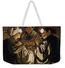Concert Weekender Tote Bag by Hendrick Ter Brugghen