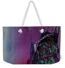 Weekender Tote Bag featuring the digital art Connect by Richard Laeton