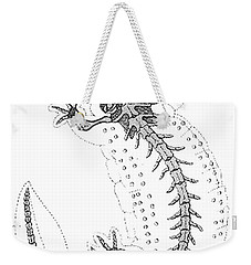 Cryptobranchus, Living Fossil Weekender Tote Bag by Science Source
