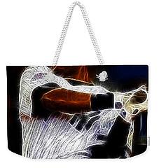 Derek Jeter New York Yankee Weekender Tote Bag by Paul Ward