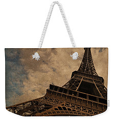 Eiffel Tower 2 Weekender Tote Bag by Mary Machare