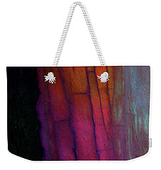 Weekender Tote Bag featuring the digital art Enter by Richard Laeton