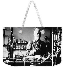 Ernest Henry Starling, English Weekender Tote Bag by Science Source