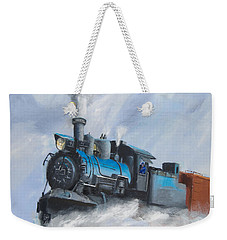 First Train Through Weekender Tote Bag by Christopher Jenkins