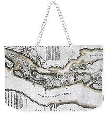 Fort Washington Attacks, 1776 Weekender Tote Bag by Photo Researchers