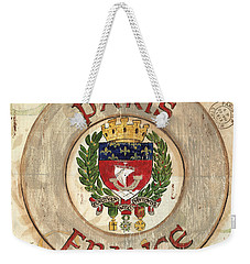 French Coat Of Arms Weekender Tote Bag by Debbie DeWitt