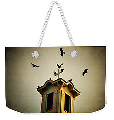 Frenchtown Steeple Weekender Tote Bag by Bill Cannon