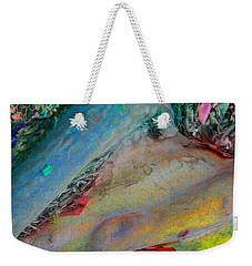 Weekender Tote Bag featuring the digital art Inner Peace by Richard Laeton