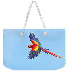 Into The Blue Weekender Tote Bag by Tony Beck