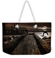 Knight's View Weekender Tote Bag by Lourry Legarde
