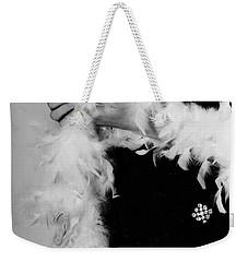 Lady With Heart Weekender Tote Bag by Joana Kruse