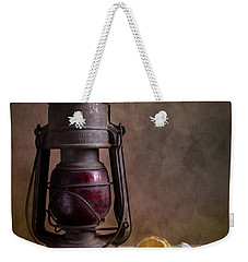 Lamp And Fruits Weekender Tote Bag by Nailia Schwarz