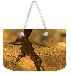 Leapin' Lizards Weekender Tote Bag by Trish Tritz