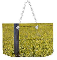 Meadowlark Singing Weekender Tote Bag by Randall Nyhof