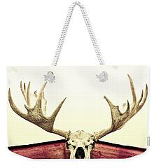 Moose Trophy Weekender Tote Bag by Priska Wettstein